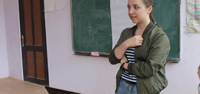 სტუდენტური დისკუსია ვაშლოვანის საჯარო სკოლაში
