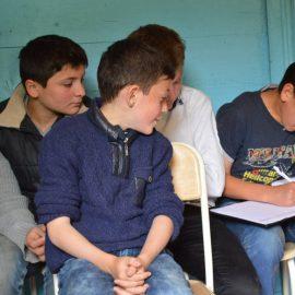 დისკუსია სოფელ ცხემლისის საბაზო სკოლაში