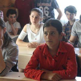 დისკუსია სოფელ ახალდაბის საჯარო სკოლაში