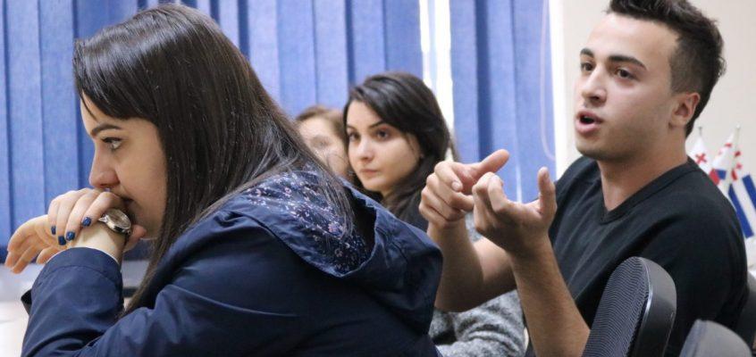 შეხვედრა ბათუმის საზღვაო აკადემიის სტუდენტებთან