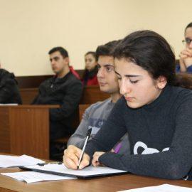 შეხვედრა ბათუმის სახელმწიფო უნივერსიტეტის სტუდენტებთან